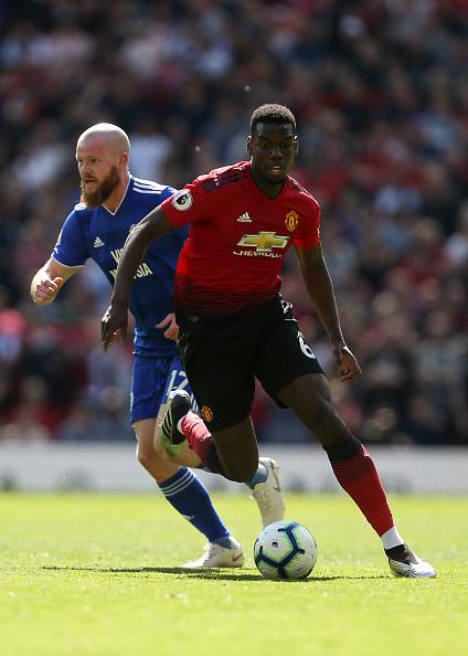49abb9a3 Paul Pogba skoraði og lagði upp flest mörkin hjá United.