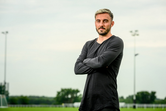 Josip Drmic er mættur til Norwich City